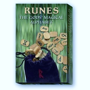RUNES - THE GODS MAGICAL ALPHABET KIT